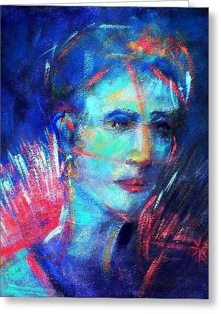 That Moment Greeting Card by Jodie Marie Anne Richardson Traugott          aka jm-ART