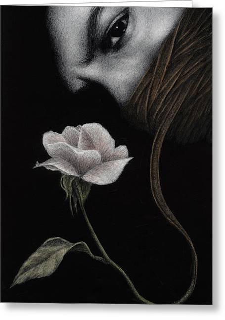 That Which Will Not Be Silenced Greeting Card by Pat Erickson