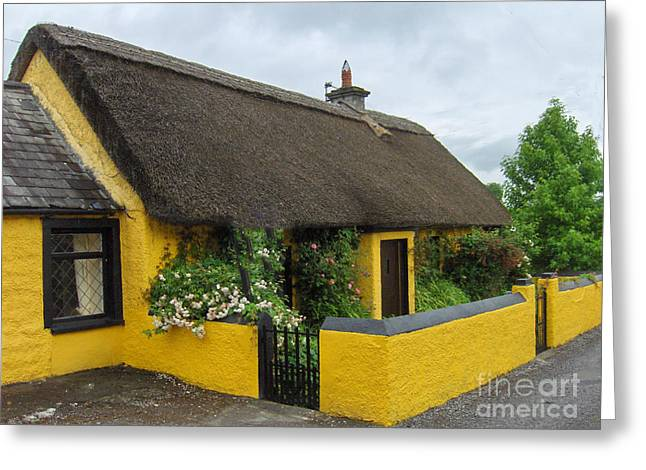 Thatched House Ireland Greeting Card