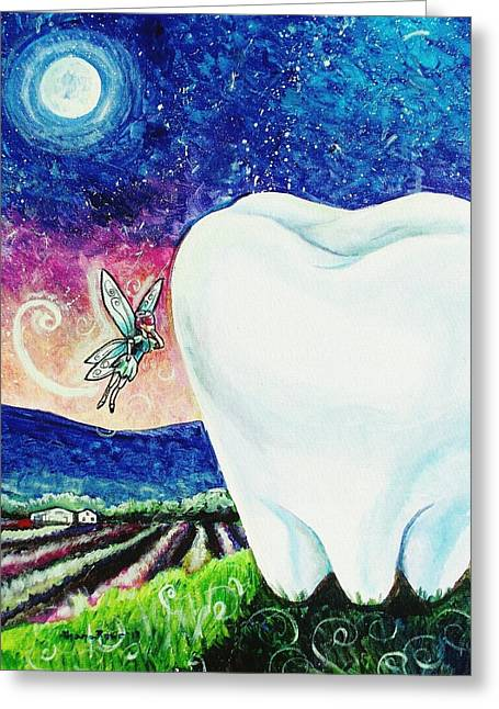 That's No Baby Tooth Greeting Card by Shana Rowe Jackson