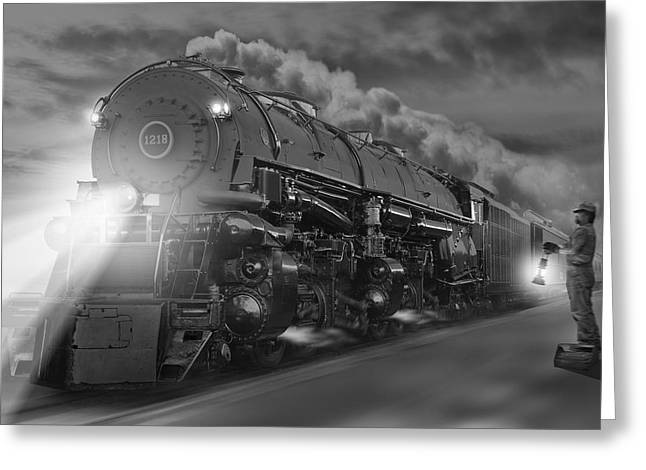 The 1218 On The Move 2 Greeting Card by Mike McGlothlen