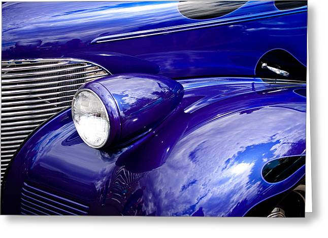 The 1939 Chevy Coupe Greeting Card by David Patterson