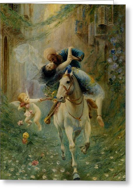 The Abduction In Cairo Greeting Card