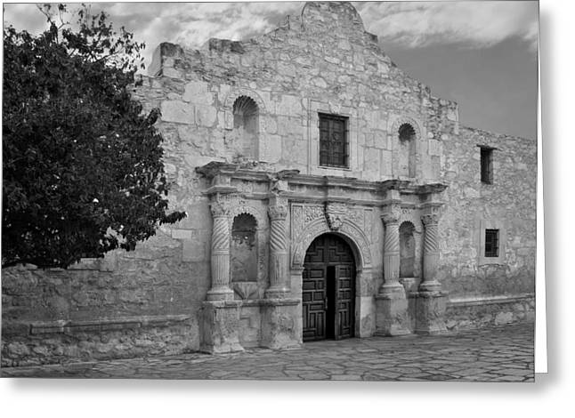 The Alamo Greeting Card by David and Carol Kelly