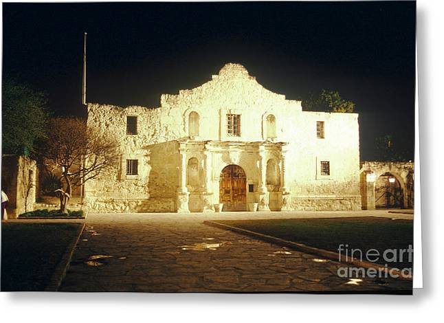 The Alamo. San Antonio, Texas Greeting Card by Van D. Bucher