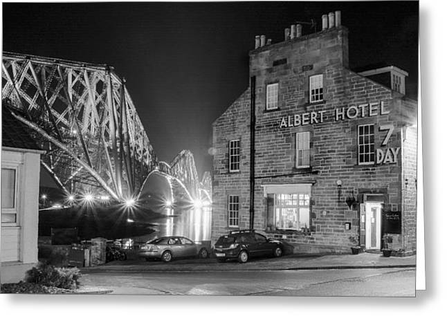 The Albert Hotel Greeting Card
