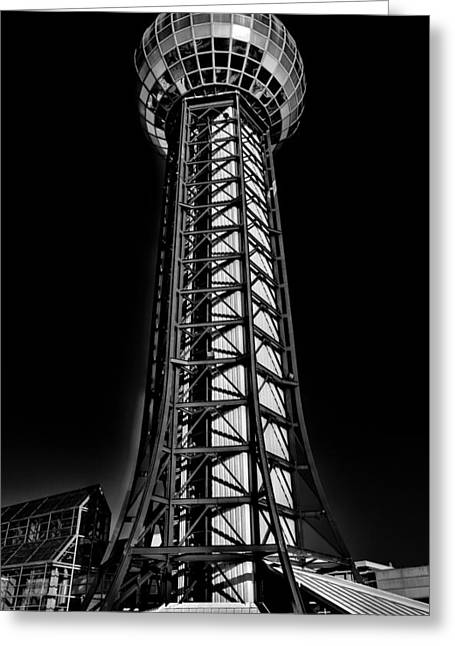 The Amazing Sunsphere - Knoxville Tennessee Greeting Card