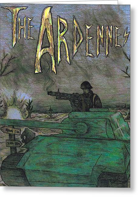 The Ardennes Greeting Card