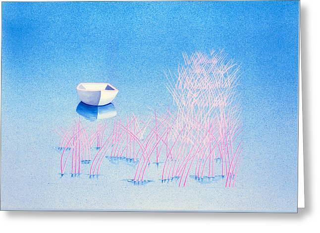 The Arrival Greeting Card by Daniele Zambardi