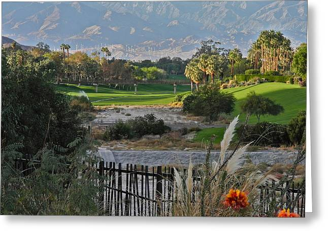 The Arroyo In Rancho Mirage Greeting Card by Kirsten Giving