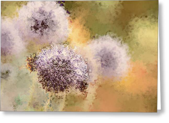 The Art Of Pollination Greeting Card by Peggy Collins