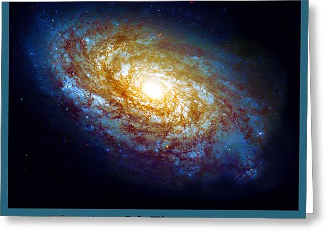 The Art Of The Universe 301 Greeting Card by The Hubble Telescope