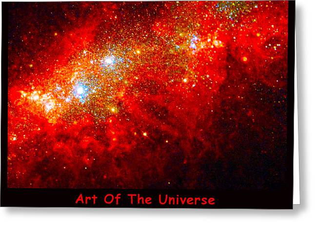 The Art Of The Universe 309 Greeting Card by The Hubble Telescope
