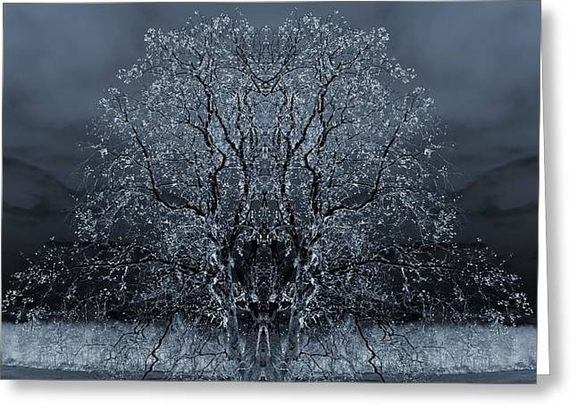 The Artwork Of Trees Greeting Card