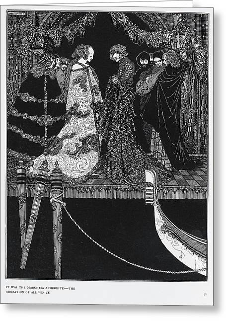The Assignation Greeting Card by British Library