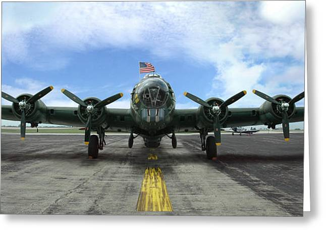 The B17 Flying Fortress Greeting Card