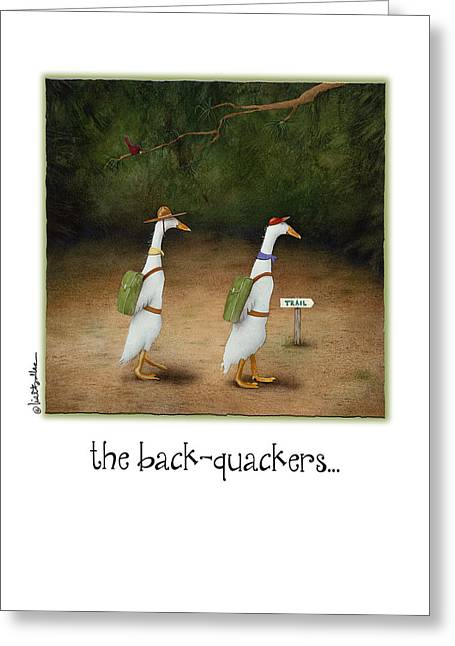 The Back-quackers... Greeting Card