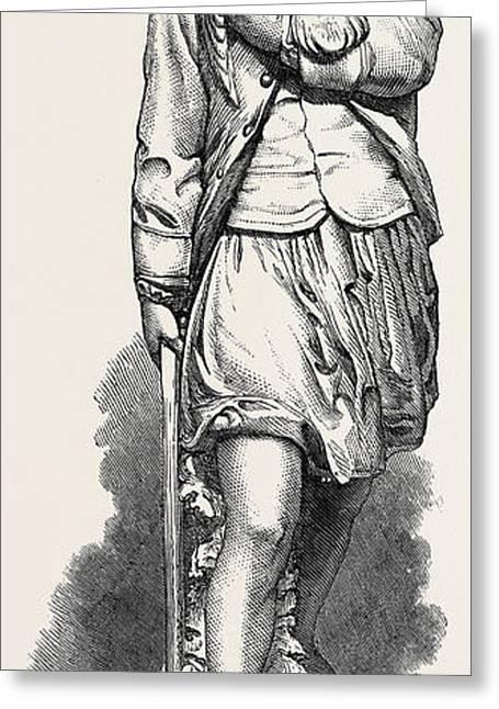 The Baffled Hawk Greeting Card by Munro, Alexander (1825-71), Scottish