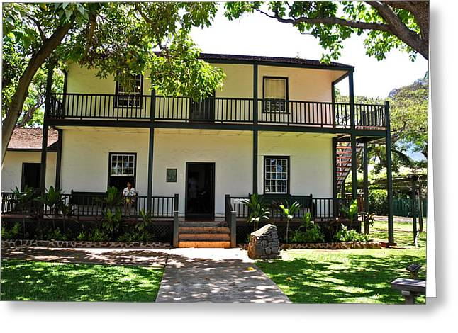 The Baldwin House In Lahaina I Greeting Card by Kirsten Giving