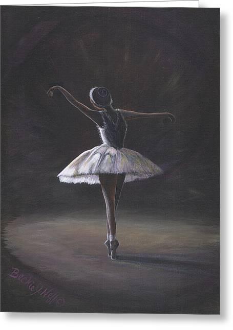 The Ballerina Greeting Card