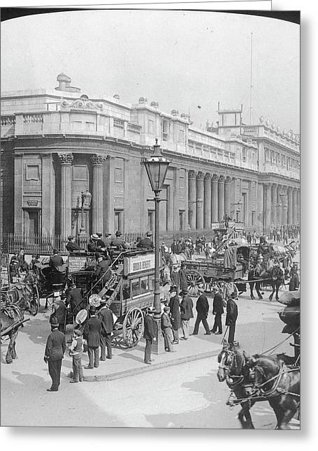 The Bank Of England Greeting Card