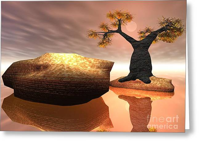 The Baobab Tree Greeting Card