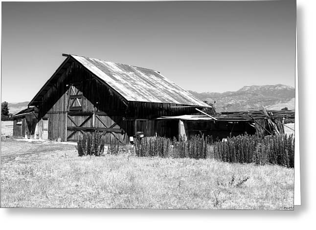 The Barn Greeting Card by Glenn McCarthy Art and Photography