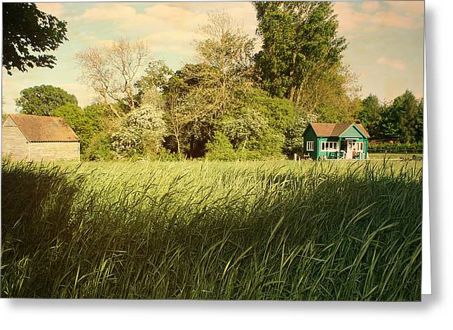 The Barn Greeting Card by Stephen Norris