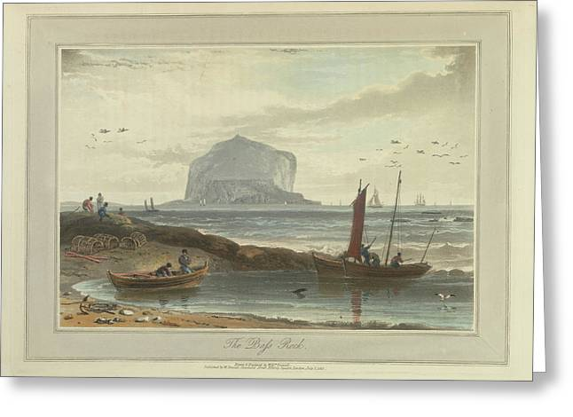 The Bass Rock Greeting Card by British Library