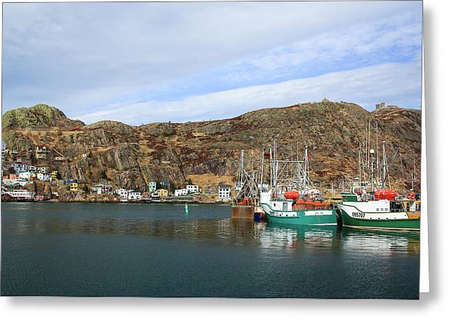 The Battery, St John's, Newfoundland Greeting Card