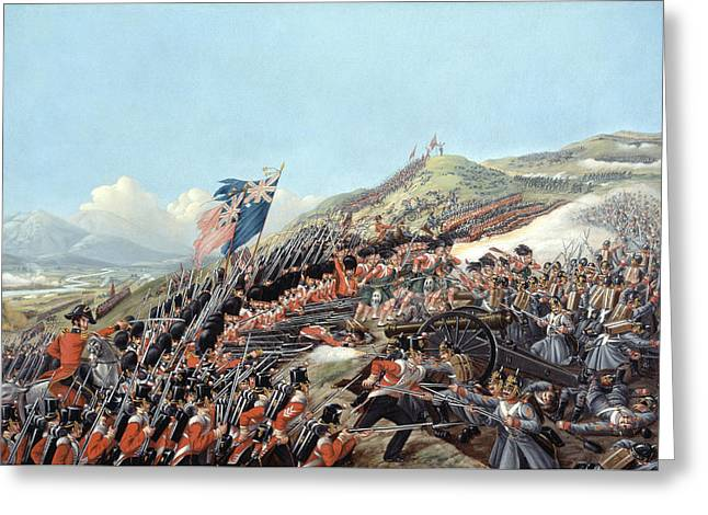 The Battle Of Alma On 20th September Greeting Card by Edmund Walker