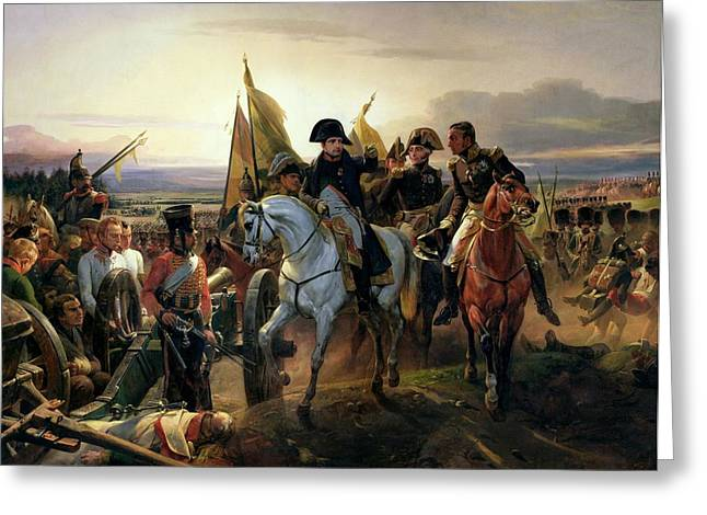 The Battle Of Friedland, 14th June 1807 Oil On Canvas Greeting Card