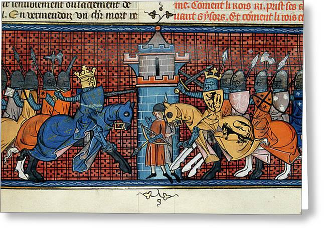 The Battle Of Gisors Greeting Card