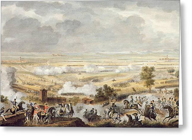 The Battle Of Marengo, 23 Prairial Greeting Card by Antoine Charles Horace Vernet