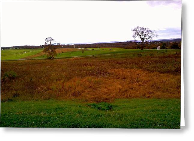 The Battlefield Of Gettysburg Greeting Card by Amazing Photographs AKA Christian Wilson