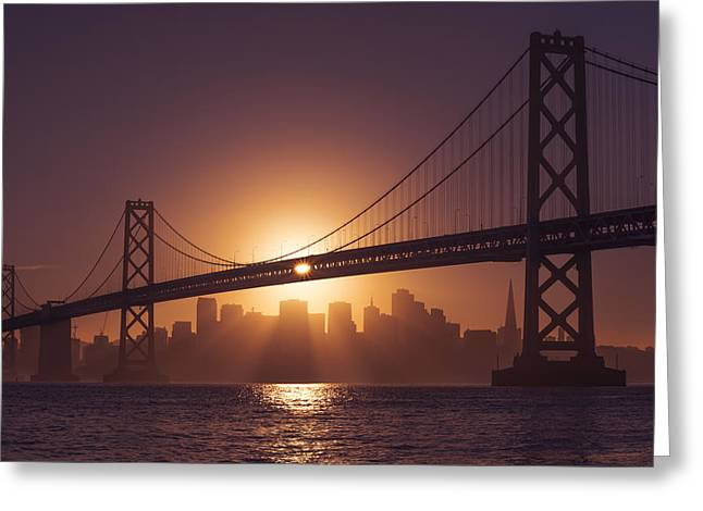 Greeting Card featuring the photograph The Bay by Dustin  LeFevre