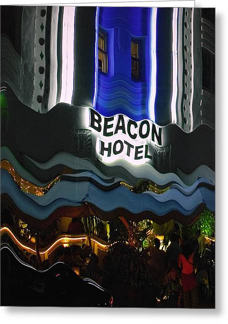 The Beacon Hotel Greeting Card