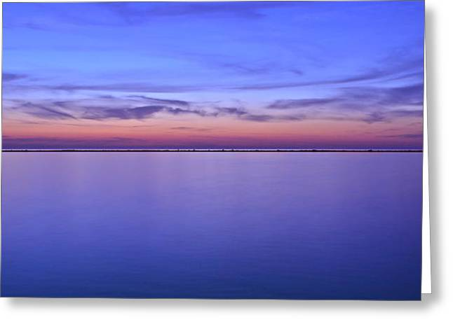 The Beacon Of Light Greeting Card by Frozen in Time Fine Art Photography