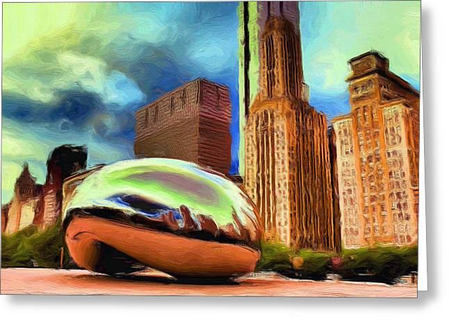The Bean - 20 Greeting Card by Ely Arsha