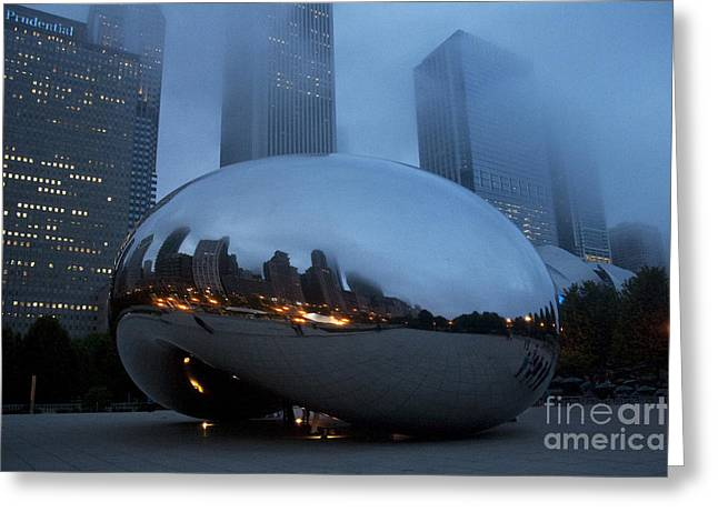 The Bean And Fog Greeting Card