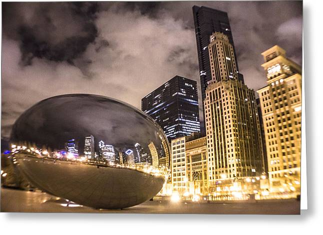 The Bean In Chicago  Greeting Card by John McGraw