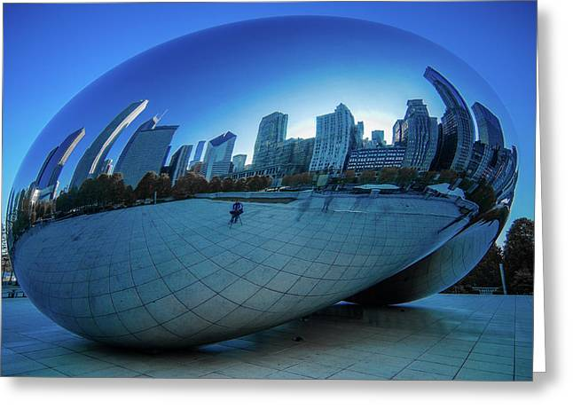The Bean Greeting Card by Jonah  Anderson