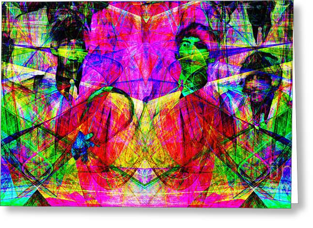 The Beatles 20130615 Greeting Card by Wingsdomain Art and Photography