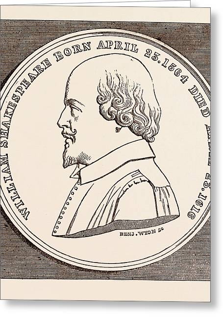 The Beaufoy Medal, In Commemoration Of The Birth And Death Greeting Card by English School