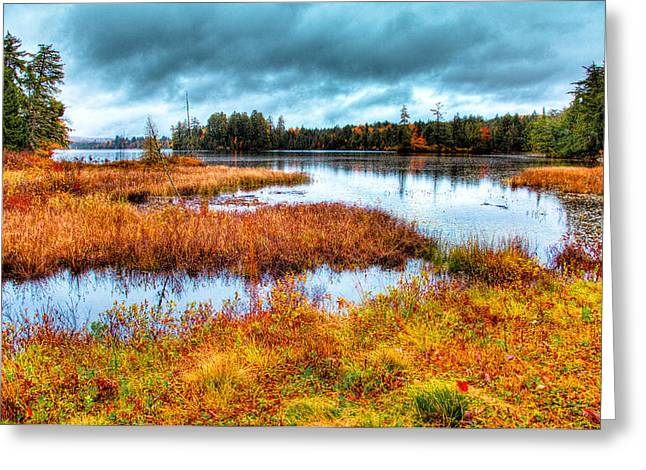 The Beautiful Raquette Lake Greeting Card by David Patterson