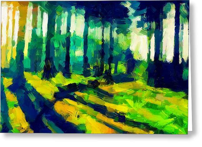 The Beautiful Trees Tnm Greeting Card by Vincent DiNovici