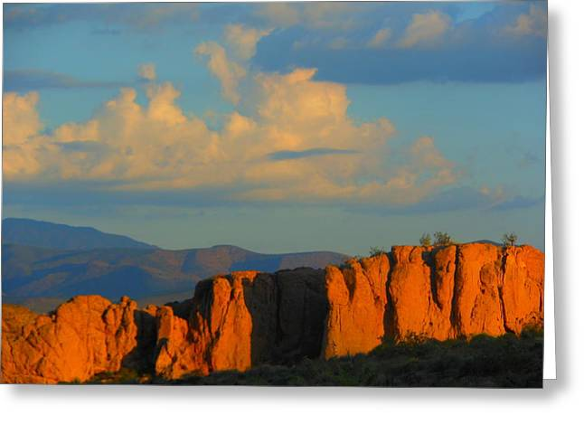 The Beauty Of Arizona Greeting Card