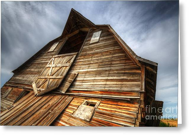 The Beauty Of Barns 3 Greeting Card by Bob Christopher