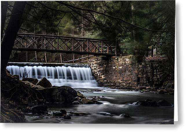 The Beauty Of Clear Creek Greeting Card