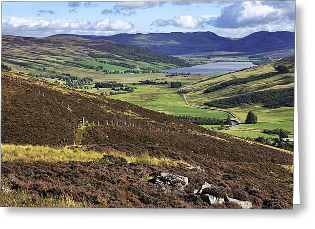 The Beauty Of The Scottish Highlands Greeting Card